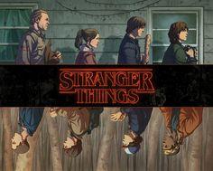 Stranger Things - Created by Ario Murti