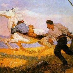 Wyeth, N.C. - Blue Lock, The Queen