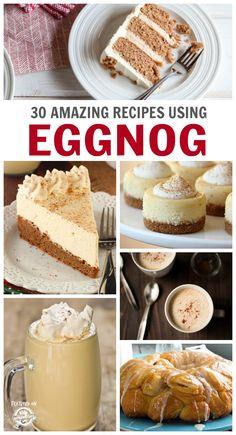 30 Delicious Eggnog Recipes