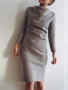 Тёплое платье / Фотофорум / Burdastyle