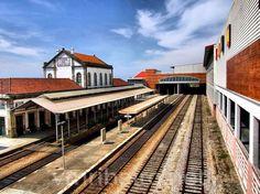 VIANA DO CASTELO (Portugal): Estação ferroviária.