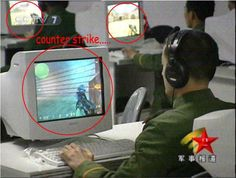 This is why the Chinese army doesn't have a hard time recruiting. #counterstrike #gaming
