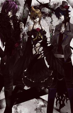 I do believe that is Len in that dress...