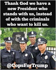 @Ginos Place:Amen!We The People love you to all Law Enforcement!