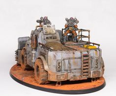 Showcase: Genestealer Cults Goliath Rockgrinder - Tale of Painters