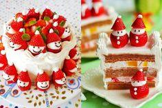 Strawberry Kerstman Recept van de Cake Video