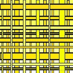 'Yellow Grid' Floor Pillow by JohannaDesign Straight Lines, Floor Pillows, Home Deco, Grid, Cushions, Yellow, Prints, Design, Throw Pillows