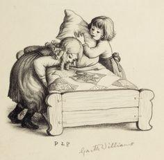Garth Williams - Little House in the Big Woods #illustration #garthwilliams