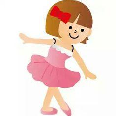 Cute Ballerina Clip Art | Ballerina Printables | Ballerina ...