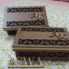 Wedding Ring Box, Wedding Boxes, Wedding Cards, Wooden Gift Boxes, Wood Boxes, Wood Laser Ideas, Wooden Box Designs, Small Wood Box, Laser Cutter Projects