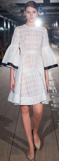 Anna K KIEV Fashion Week S/S '18.