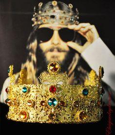 Man Celebrity Crown Metal Headband Medieval by Elviejewelrydreams