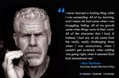 Learn from the Struggle. Great quote from @perlmutations.