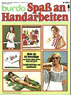 Burda Spass am Handarbeiten 6/76