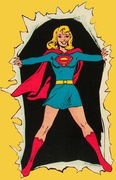 La super damisela en el sesenta y nueve.