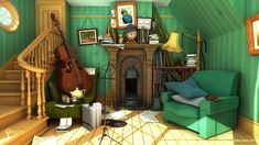 3d classic disney rendered using mental ray with final gather and global illumination