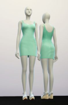 Basic dress M II at Rusty Nail • Sims 4 Updates