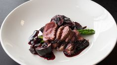 Duck Breast with Date and Fig Sauce