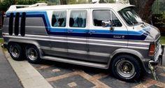 Customised Vans, Custom Vans, 6x6 Truck, Pickup Trucks, Vintage Motorhome For Sale, 4x4 Van Conversion, Chevrolet Van, Old School Vans, Dodge Van