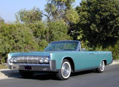 1964 Lincoln Continental Convertible.