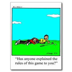 Funny Golf Cartoon Art Gifts! Postcards