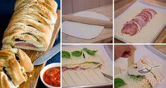 A Stromboli egy olasz töltött pizza, ami az eredeti recept alapján igazi olasz tésztából és hozzávalókból készül. Mivel ez nálunk nem mindig kivitelezhető, ezért én a konyhában és a boltban kapható alapanyagokhoz igazítottam a receptet. Szalámit, sonkát és különböző sajtokat használtam tölteléknek, és szerencsémre friss bazsalikomlevelet is sikerült beszereznem. Gyorsan elkészült, és a család egyszerűen imádta. Az egyetlen hátránya, hogy egy adag nálunk nem volt elég, ezért legközelebb…