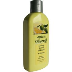 OLIVENÖL Spülung limoni di Amalfi Kräftigung:   Packungsinhalt: 200 ml Haarspülung PZN: 06716633 Hersteller: Dr. Theiss Naturwaren GmbH…