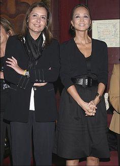 Isabel y su hermana Beatriz (q.e.p.d.)