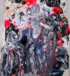 acrylics...     My inspiration:     ....People can be 'together' but still very much alone...    (Bernadette Sept 2012)