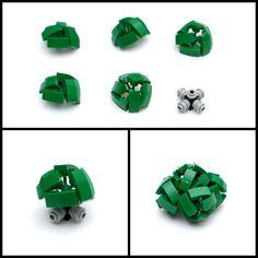 Slope Tree Tutorial – Part II: Canopy | Full Plate Builds Hama Beads Minecraft, Perler Beads, Lego Robot, Lego Moc, Lego Batman, Lego Lego, Minecraft City Buildings, Minecraft Houses, Lego Tree