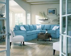 Image detail for -Beach Themed Living Room Furniture Photo Gallery.  Love this floor!
