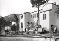 The Garden of Allah Hotel under construction, 1926