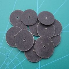 Mini Sanding Discs Medium Grit 36pc Set