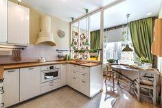 Кухня с видом на веранду — Школа ремонта