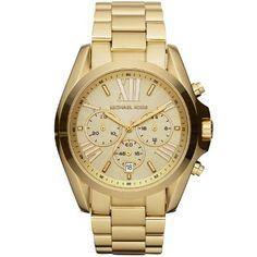 MICHAEL KORS MK5605 - Reloj analógico de cuarzo para mujer con correa de acero inoxidable, color dorado: Amazon.es: Relojes