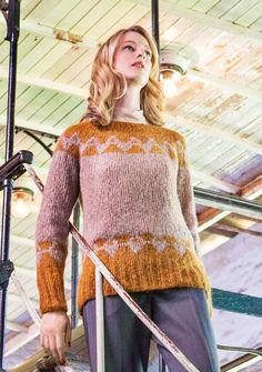 Lana Grossa NORWEGERPULLI Voi - FILATI Handstrick No. 65 - Modell 9 | FILATI.cc…