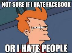 Y U no like Facebook?