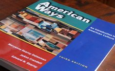"""The textbook called """"American Ways"""""""