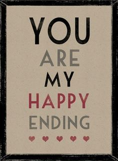 ... We are our happy ever after xxx