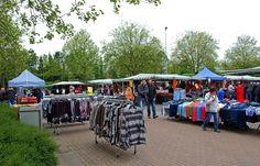 Neben der Gilde der Marktschreier ... gibt es auch noch eine Art Krammarkt auf dem Platz neben der Stadthalle in Merzig. Also wer will, sollte dann heute die trockenen Perioden zwischen den Regenschauern ausnutzen.:-)