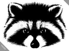Картинки по запросу draw raccoon