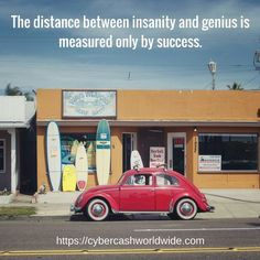 The distance between insanity and genius is measured only by success.  #motivation #success #affiliatemarkering #affiliate #inspiration #inspirational #entrepreneur #business #quotes #positivechange #positivity #lifestyle #successful #quoteoftheday #quote #money #entrepreneurship #life #entrepreneurs #believeinyourself #happiness #bedifferent #passion #work #inspire #entrepreneurlife #goals #successquotes #instagood #wealth