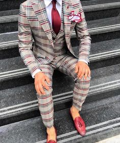 Suit fashion - 49 Trendy Wedding Ideas For Men Suits Mens Fashion Blazer Outfits Men, Stylish Mens Outfits, Casual Outfits, Best Suits For Men, Cool Suits, Cool Prom Suits, Formal Suits For Men, Trendy Suits For Men, Suit For Men