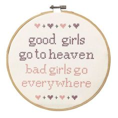 Good Girls Go To Heaven Stitch