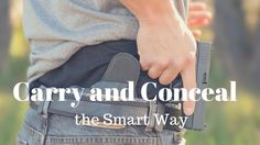 Carry and conceal has become a new concept for a lot of new gun owners.  Even some long time gun owners still don't know how to properly carry and conceal.  Some believe that it is just throwing a gun inside their waistband underneath their belt.  Then there are others who simply put one ...