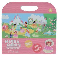 Pretty princesses will have hours of fun creating their own dreamy delightful garden scenes! The Magna Carry Playbooks are ideal travel and magnetic toys that help foster creative thinking and imaginative play!