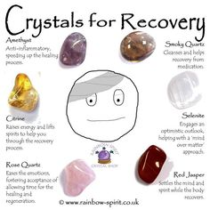 Crystal Set for Recovery Crystal Healing Stones, Crystal Magic, Crystal Shop, Rose Quartz Crystal, Crystal Grid, Healing Crystal Jewelry, Gemstone Jewelry, Crystal Place, Swarovski Jewelry