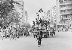 April 17,  1975: PHNOM PENH FALLS TO KHMER ROUGE FIGHTERS  -    Cambodia's five-year war ends as the capital Phnom Penh falls to the Khmer Rouge, which instituted brutal, radical policies that claimed an estimated 1.7 million lives until the regime was overthrown in 1979.