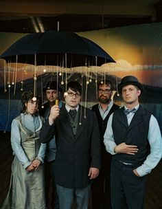 one of my fav bands, The Decemberists