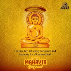 On this day, let's pray for peace and harmony for all humankind. Happy Mahavir Jayanti! #Adachikan #Chikankari #Mahavirjayanti #chikan #Lucknowi #worldwidedelivery